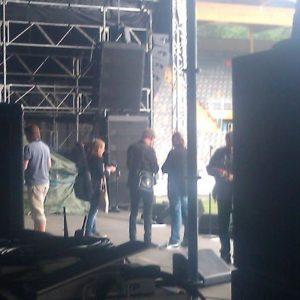 Dan Hylander, Micke Rickfors samt Pugh Rogefeldt.